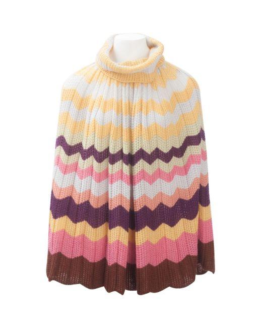 Missoni Multicolor Multicolour Wool Dress