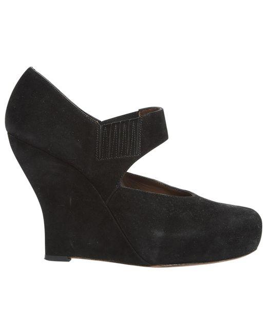 Marni - Black Pre-owned Heels - Lyst