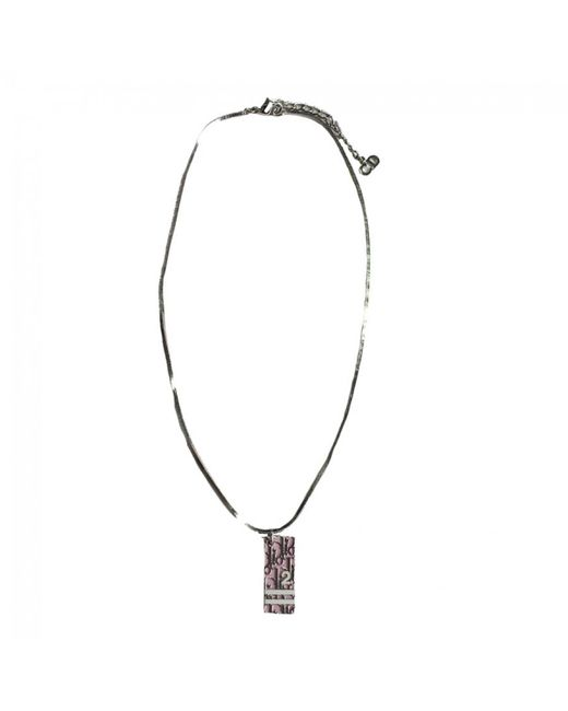 Dior | Metallic Pre-owned Necklace | Lyst