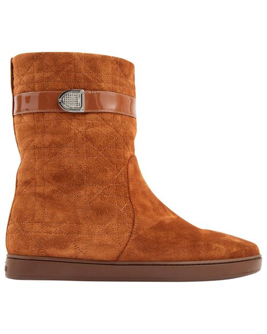 Dior - Brown Boots - Lyst