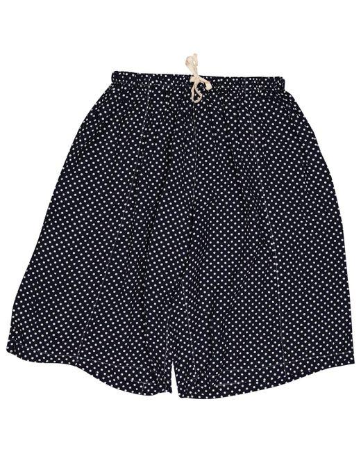 Comme des Garçons - Blue Navy Viscose Shorts - Lyst