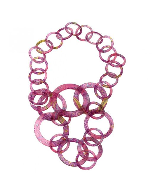 Etro - Multicolor Necklace - Lyst