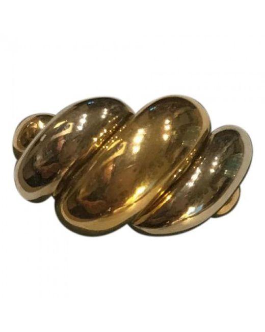 Van Cleef & Arpels - Metallic Yellow Gold Ring - Lyst