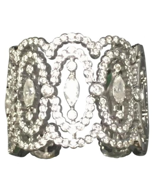 Messika - Metallic White Gold Ring - Lyst