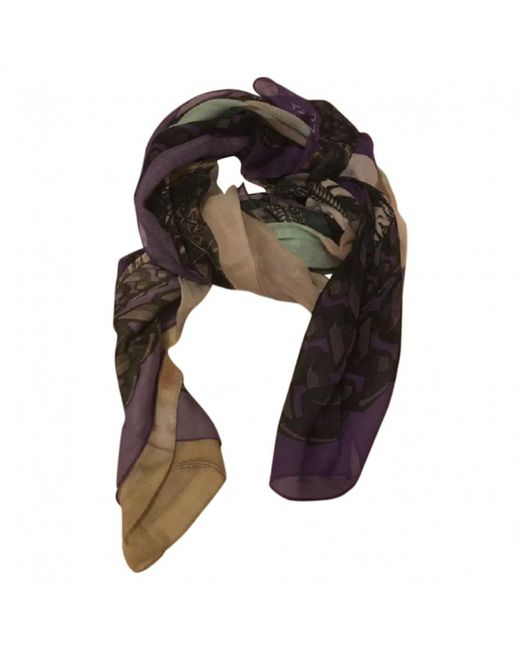 Givenchy - Multicolor Multicolour Cotton Scarves - Lyst