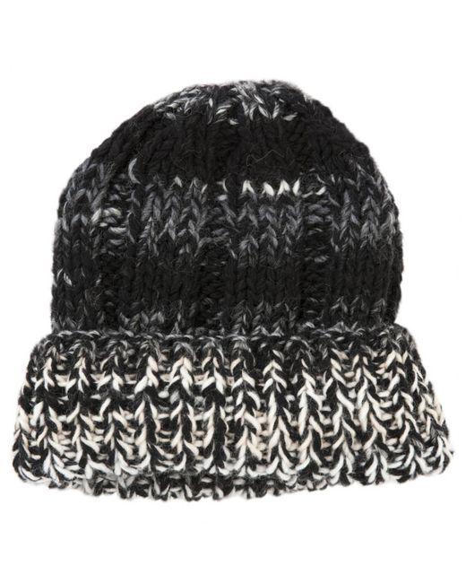 7bec962aec8 Lyst - Etro Pre-owned Black Wool Hats in Black