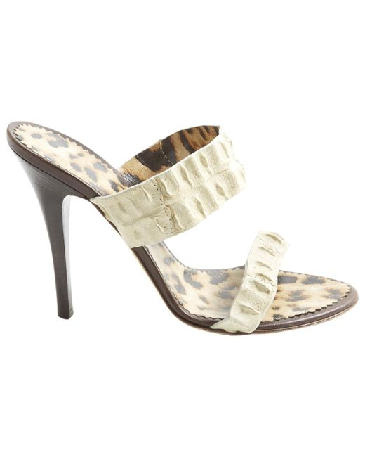 Pre-owned - Patent leather heels Roberto Cavalli oBbzly