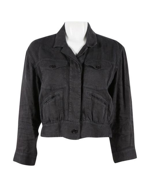 Étoile Isabel Marant - Gray Grey Linen Jacket - Lyst