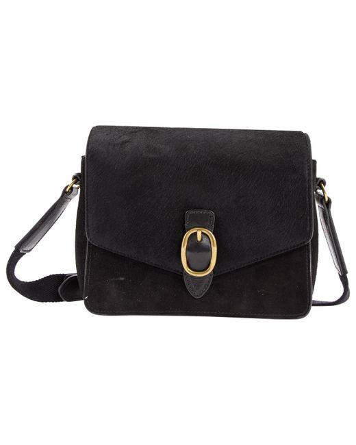 85b69ca56dc0 Lyst - Isabel Marant Black Pony-style Calfskin Handbag in Black