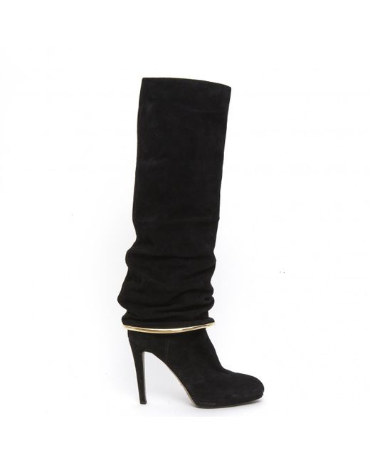 Sergio Rossi - Black Pre-owned Boots - Lyst