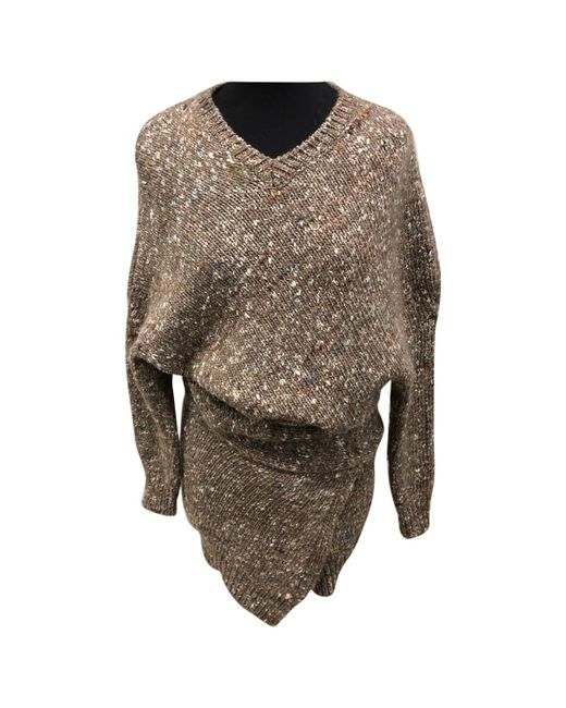 Stella McCartney - Natural Pre-owned Wool Jumper - Lyst