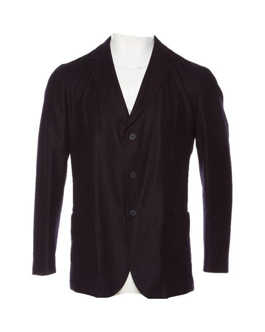 Bottega Veneta Blue Navy Cashmere Jacket for men