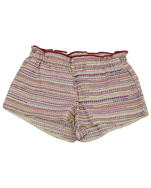 Maje - Multicolor Pre-owned Mini-shorts - Lyst