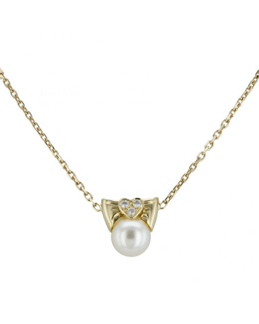 Van Cleef & Arpels - Yellow Yellow Gold Necklace - Lyst