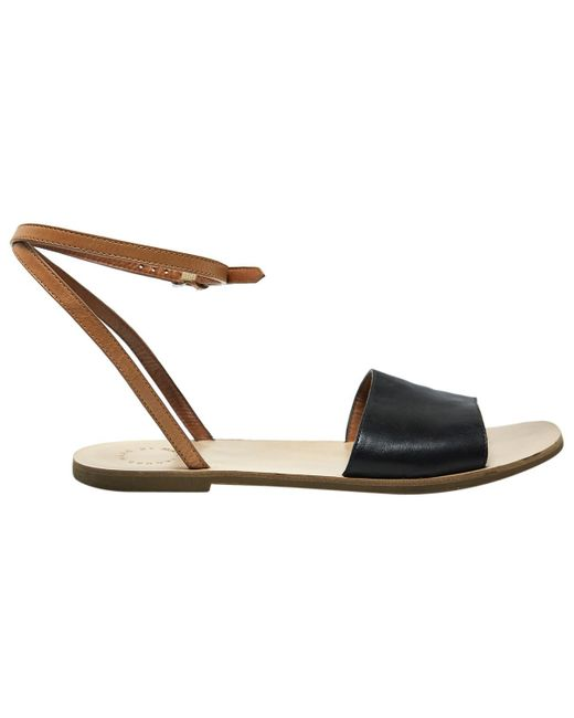 Marc By Marc Jacobs - Black Pre-owned Leather Sandals - Lyst