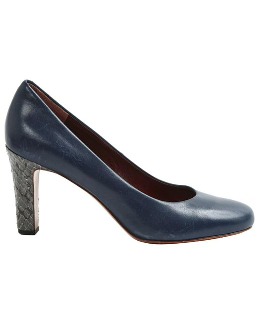 Marc By Marc Jacobs - Pre-owned Blue Leather Heels - Lyst
