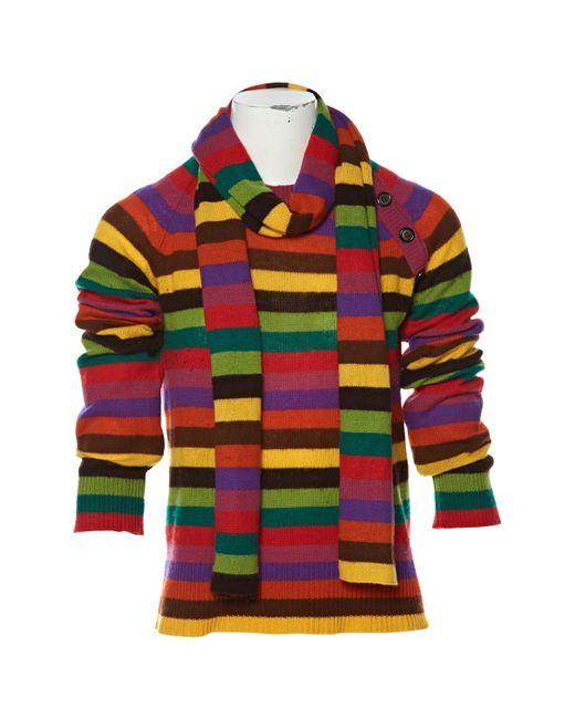 Louis Vuitton | Multicolor Pre-owned Cashmere Jumper | Lyst