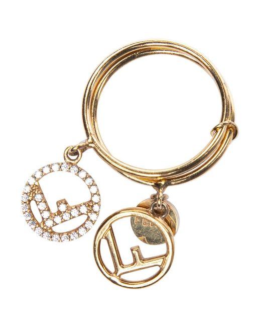 Fendi Metallic Gold Other Rings