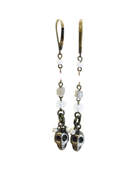 Isabel Marant - Metallic Silver Metal Earrings - Lyst