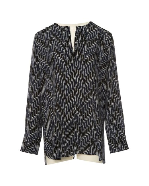 Marni - Blue Pre-owned Silk Blouse - Lyst