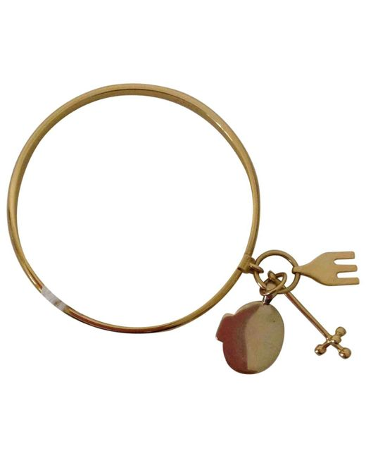 Chloé | Metallic Pre-owned Gold Metal Bracelet | Lyst