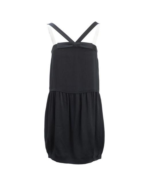 Stella McCartney - Pre-owned Black Silk Dresses - Lyst