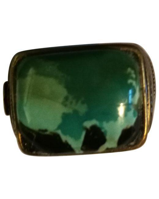 Chanel - Metallic Jade Ring - Lyst