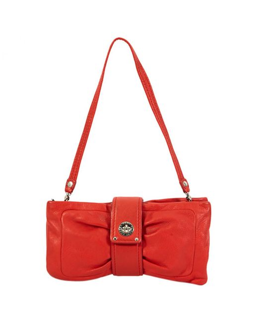 Marc By Marc Jacobs - Red Leather Clutch Bag - Lyst