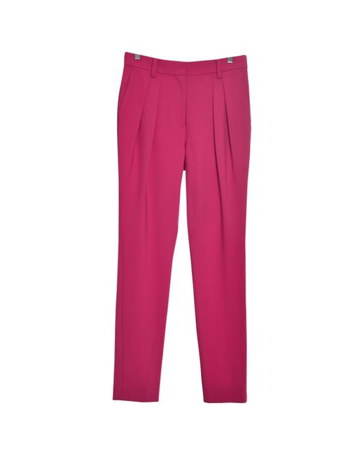 Marc By Marc Jacobs - Pink Pre-owned Wool Straight Pants - Lyst