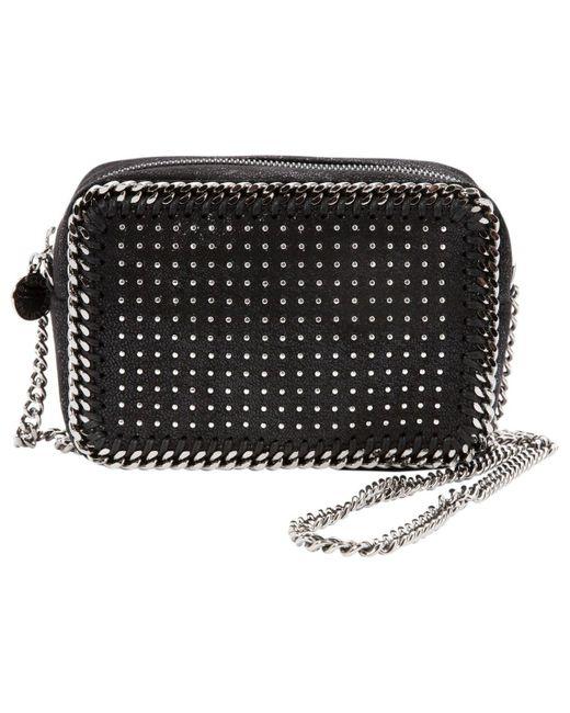 Stella McCartney Falabella Black Leather Handbag