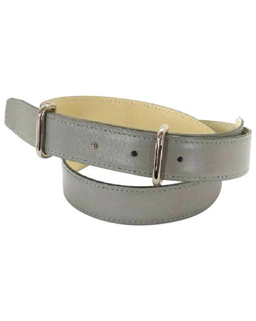 Hermès - Gray Pre-owned Belt - Lyst