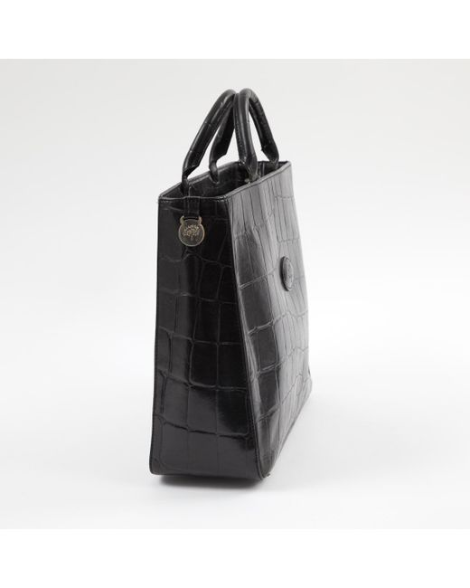 9a4d373fad ... Mulberry - Pre-owned Black Leather Handbags - Lyst ...