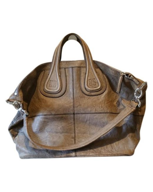 Givenchy - Natural Nightingale Leather Handbag - Lyst