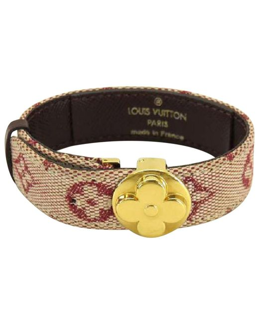 Louis Vuitton | Metallic Pre-owned Monogram Bracelet | Lyst