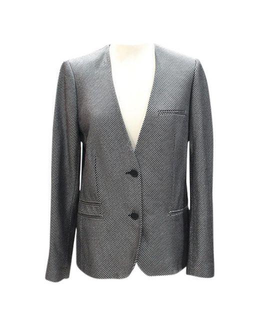 Zadig & Voltaire - Metallic Silver Cotton Jacket - Lyst