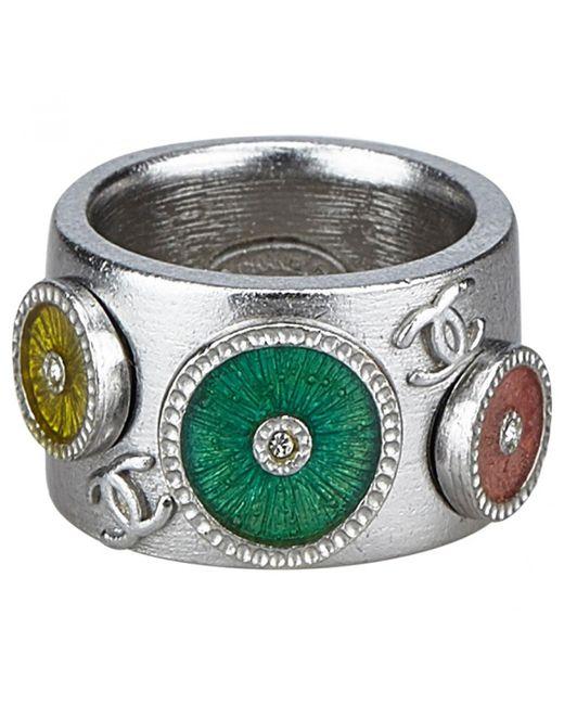 Chanel - Metallic Ring - Lyst