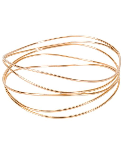 Tiffany & Co - Metallic Pre-owned Pink Gold Bracelet - Lyst