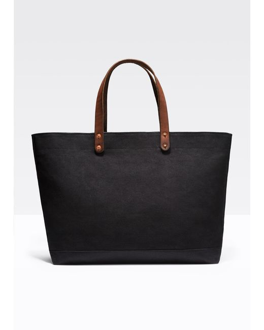 Vince | Black Stanley & Sons / Canvas Tote | Lyst