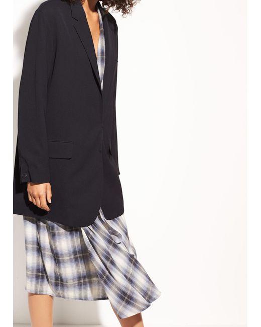 Vince | Black Oversized Soft Blazer | Lyst