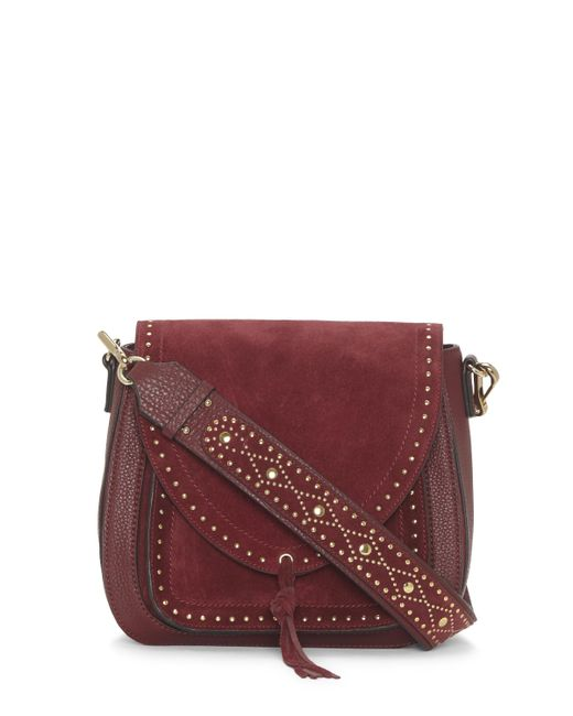 Vince Camuto | Multicolor Artea – Studded Guitar-strap Shoulder Bag | Lyst