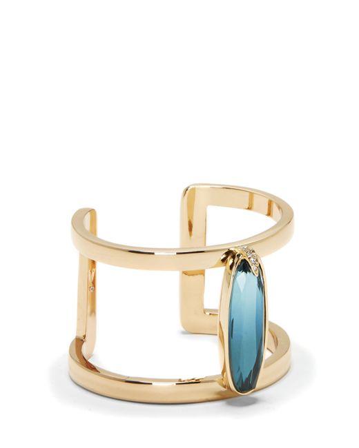 Vince Camuto | Metallic Blue Jewel T-bar Cuff | Lyst