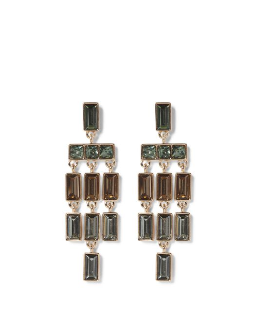 Vince Camuto | Multicolor Mulicolored Jeweled Chandelier Earrings | Lyst