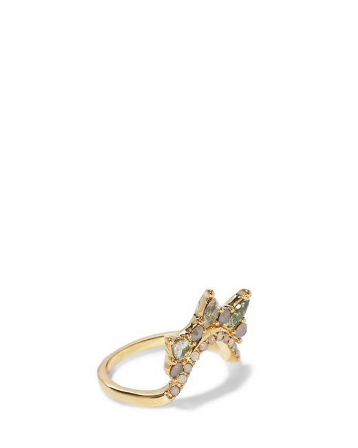 Vince Camuto - Metallic Classic Crystal Ring - Lyst