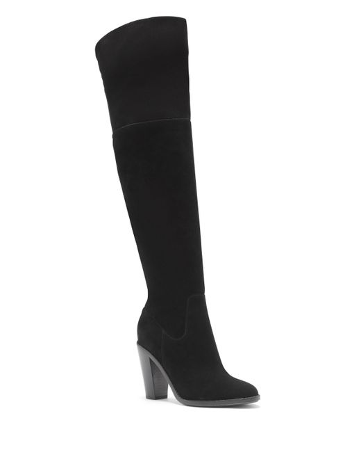 Vince Camuto | Black Davies Low Heeled Ankle Boots | Lyst