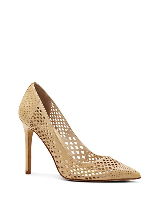 Vince Camuto | Natural Nico - Perforated Pump | Lyst