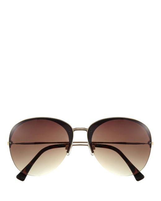 Vince Camuto | Brown Metal-frame Gradient-lens Sunglasses | Lyst