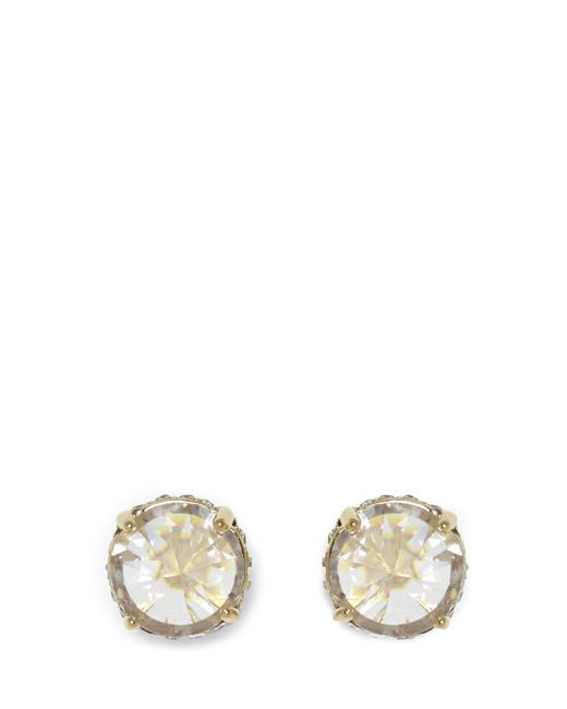 Vince Camuto | Metallic Goldtone Rivoli Stud Earrings | Lyst
