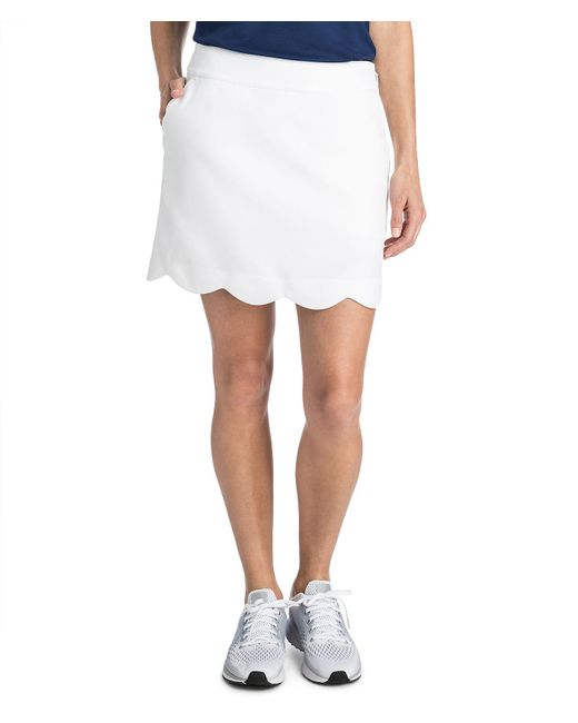 Vineyard Vines - White 17 Inch Scallop Skort - Lyst