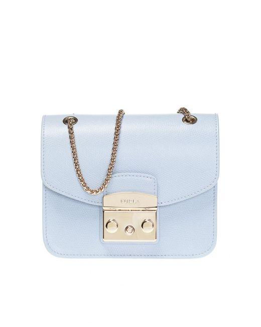 Furla  are Metropolis  Shoulder Bag in Blue - Save ... ff0f57d3545fc