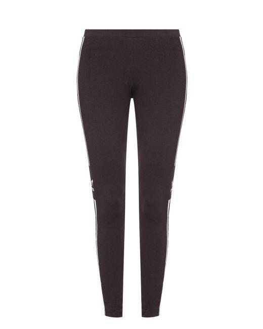 95ccb805f87e6 Adidas Originals - Black Side Stripe leggings - Lyst ...